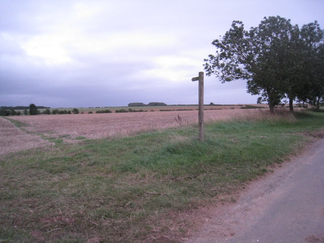 Bridleway to Beelsby