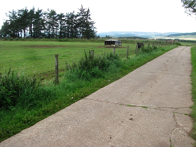 Road from Drumforber