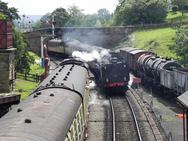 North Yorkshire Moors Railway, Goathland
