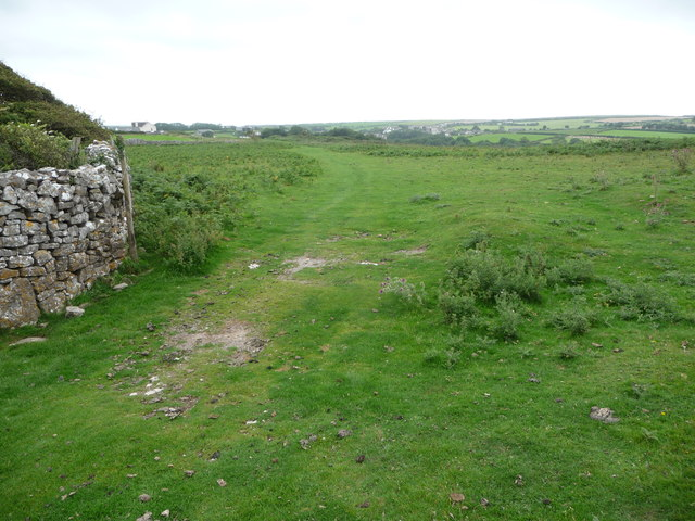 Path on Old Castle Down