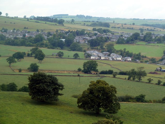 Looking over Youlgreave