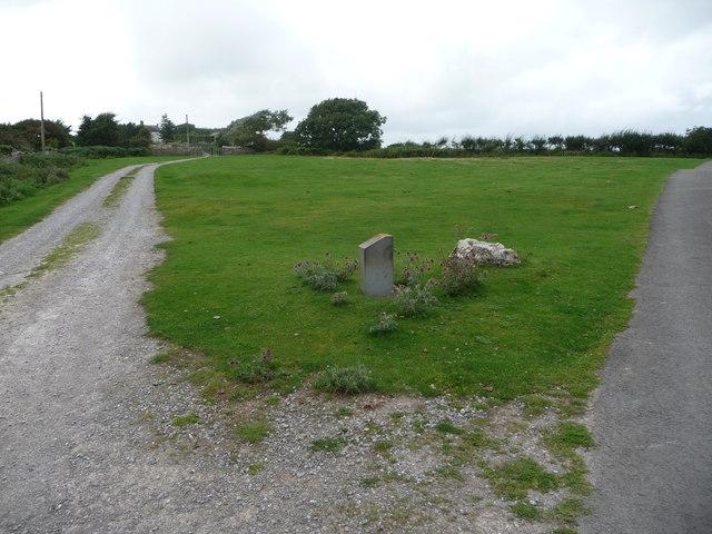 Croes Antoni / Anthony's Cross, near St Brides Major