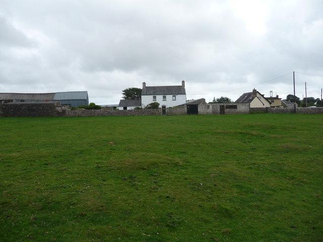 Farm at Heol-y-mynydd