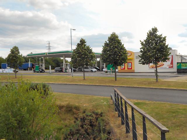 Norton Canes Service Area, M6 Toll Road