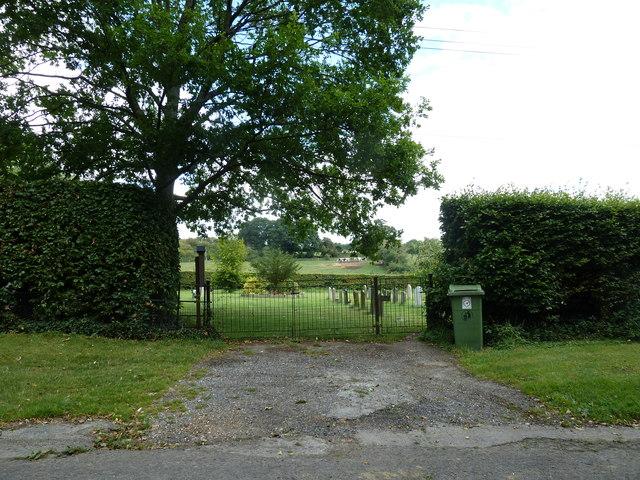 Cemetery Gates, Church Road