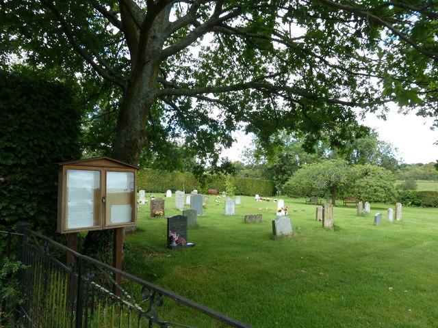 Cemetery in Church Road (a)