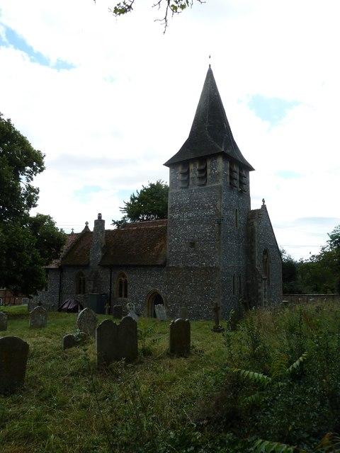 St Mary, Longstock: August 2011