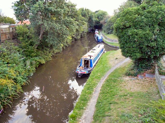 The Stratford Canal, Hockley Heath