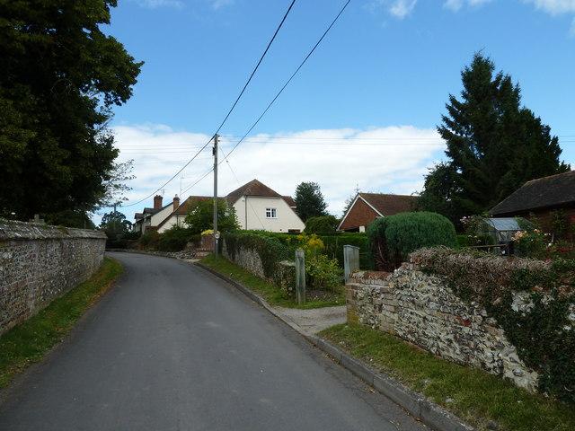 Eastern end of Church Road