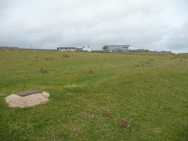 Buildings near Dunraven Bay