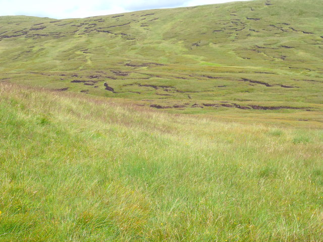 Ground between Cnoc Odhar and Beinn Bhreac north of Loch Katrine