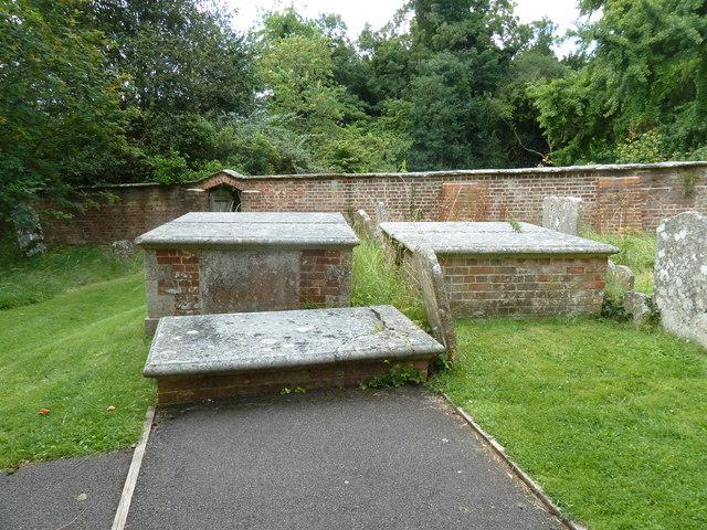 St Mary, Longstock: churchyard (viii)