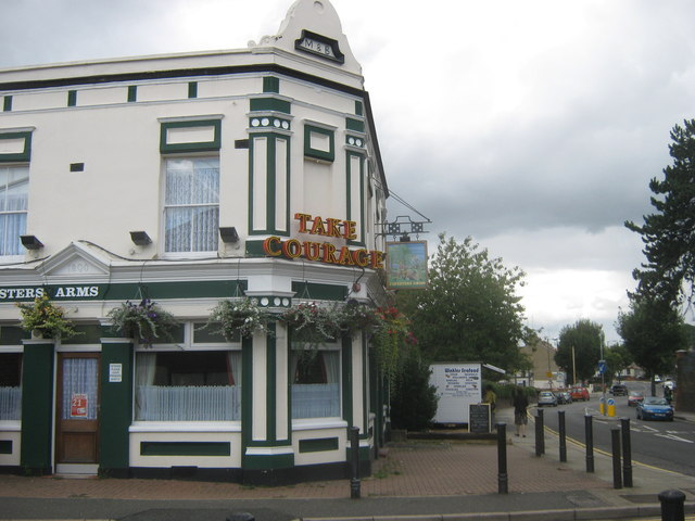 Foresters Arms, Public House, East Wickham