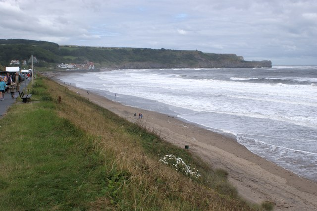 The sea at Sandsend