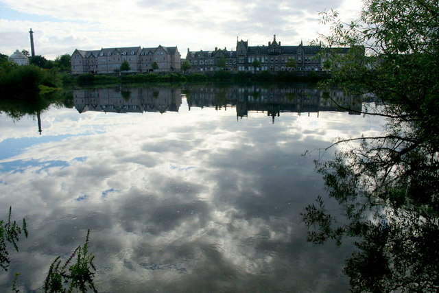 Reflections in the Tay at Perth