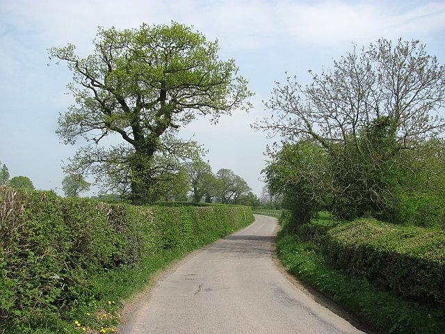 Ludlow to Clee St Margaret road