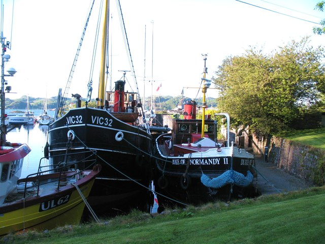 Two fine old boats