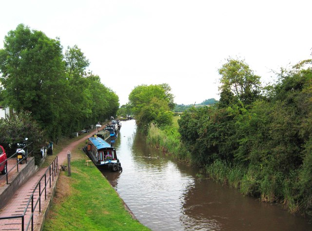 Droitwich Junction Canal, Hanbury Wharf