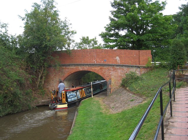Bridge no. 1 on Droitwich Junction Canal, Hanbury Walk