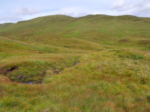 Ground to the west of Beinn Bhreac near Loch Katrine