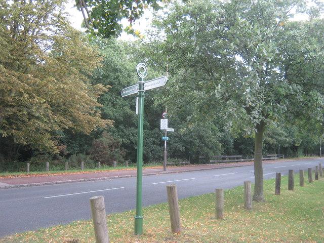 Green Chain Walk crosses Bostall Hill