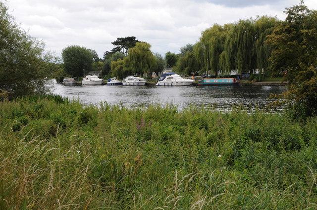 River Thames near Boveney