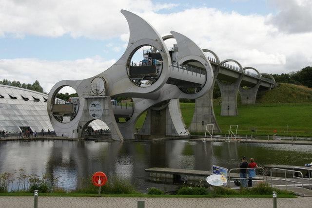 Falkirk Wheel in action