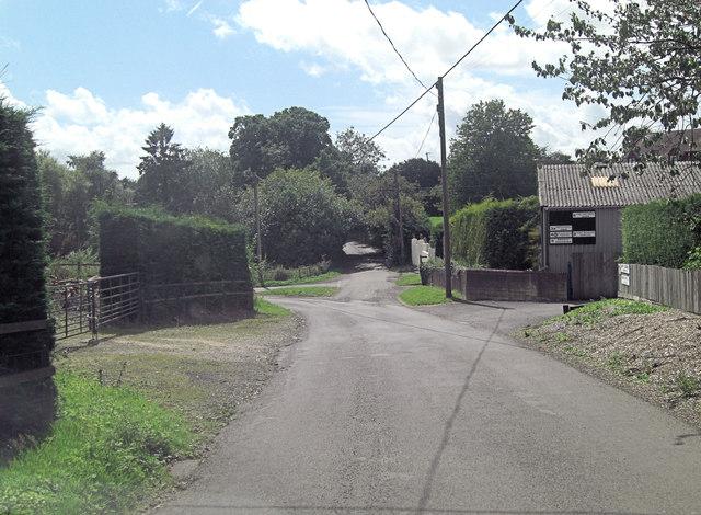 Junction of Upper Soldridge Road and Grosvenor Road
