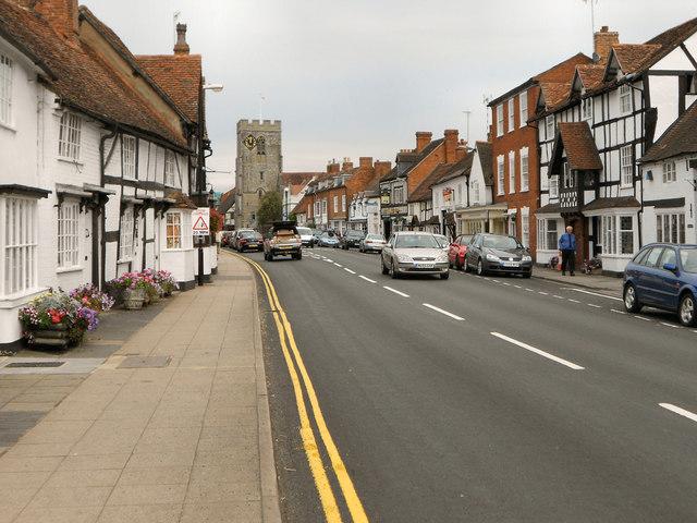 Henley-in-Arden High Street
