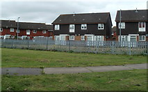 ST3487 : East side of  Broadmead Park, Newport by Jaggery