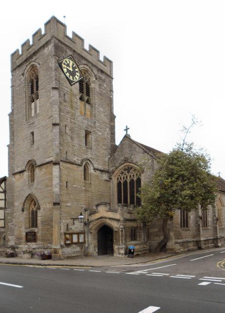 The Parish Church of St John the Baptist, Henley-in-Arden