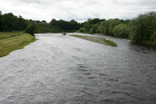 River Tweed at Melrose