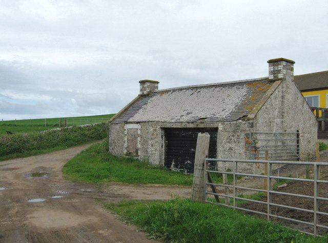 A ruined cottage at Dally