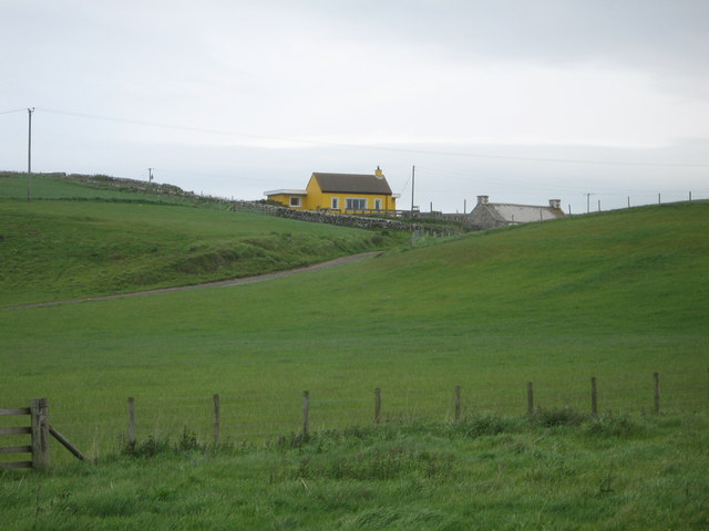 Dally Cottage seen from the shore