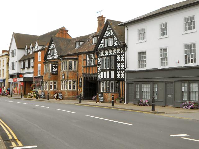 Henley-in-Arden High Street, The White Swan Hotel