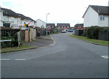 ST3487 : Looking along Moorland Park towards Broadmead Park, Newport by Jaggery