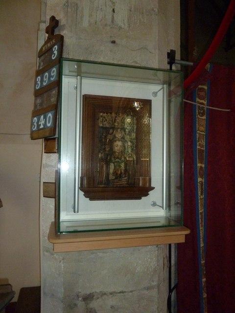 Saint Mary, Amport: icon