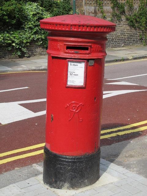 Victorian postbox, Brondesbury Villas / Hazelmere Road, NW6