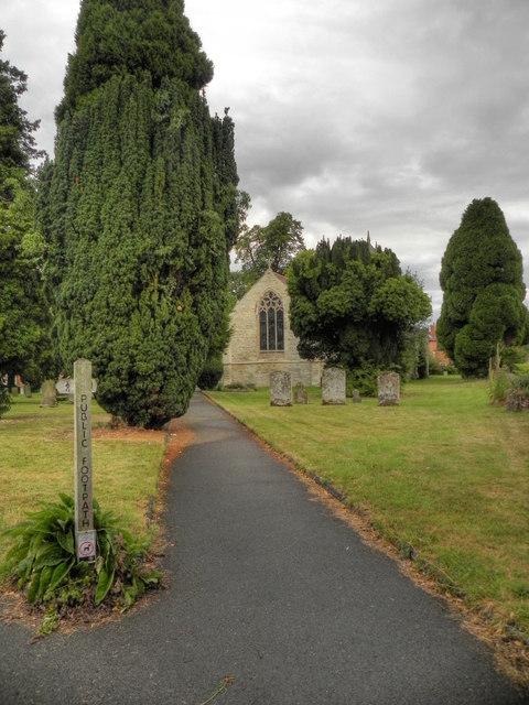 St John the Baptist Churchyard, Aston Cantlow