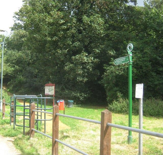 Green Chain Walk enters Frank's Park