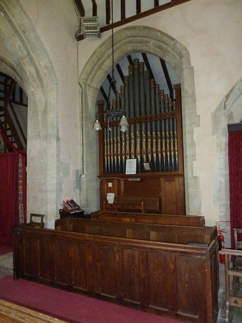 Saint Mary, Amport: organ