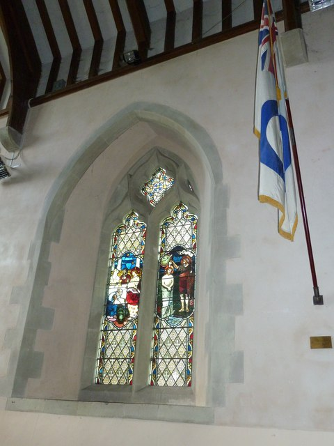Saint Mary, Amport: stained glass window (xi)