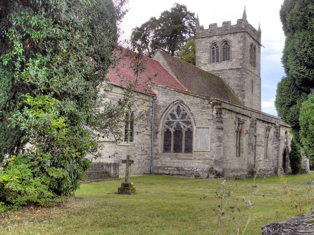 The Parish Church of St John the Baptist, Aston Cantlow