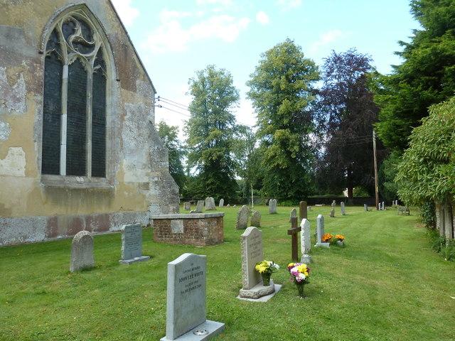Saint Mary, Amport: churchyard (4)