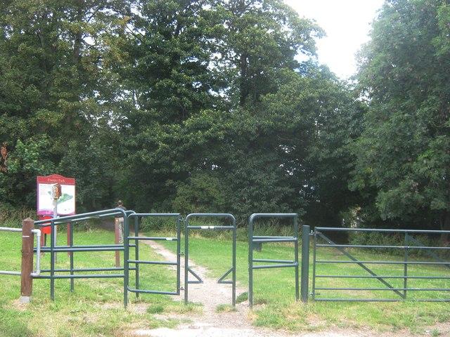 Entrance to Frank's Park