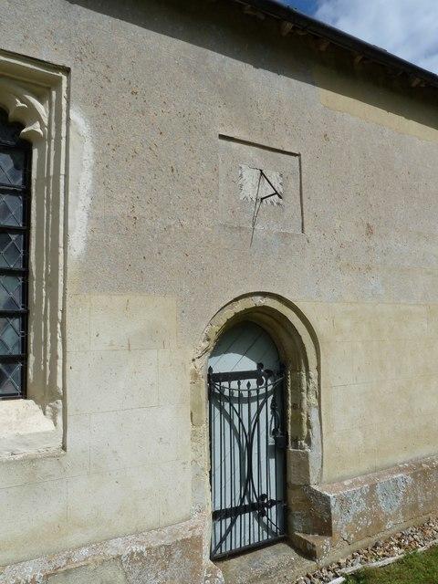 St Nicholas, Leckford: sundial