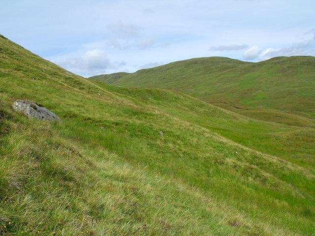 East flank of Meall Gaothach near Loch Katrine