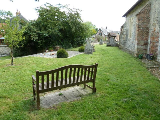 St Nicholas, Leckford: churchyard (3)