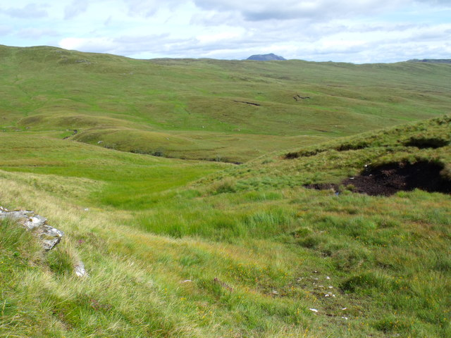 Wee water course on east side of Meall Gaothach