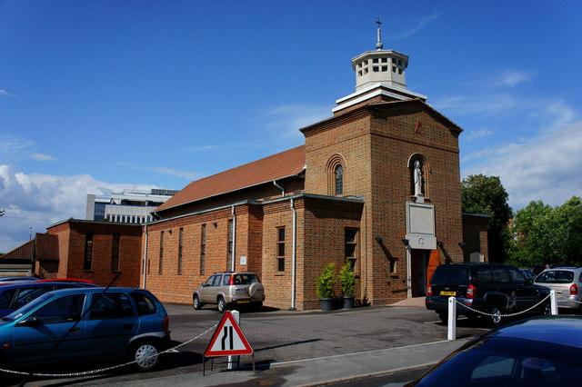 St.Wilfrid's Roman Catholic Church, Burgess Hill, Sussex